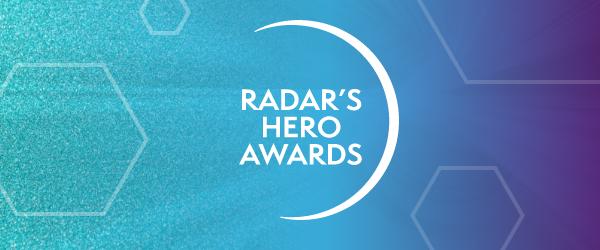 Radar Hero Awards banner