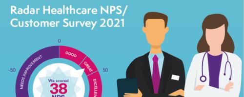 Radar Healthcare achieve another great NPS score